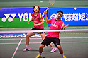 (L to R) Reiko Shiota, Shintaro Ikeda,..DECEMBER 9, 2011 - Badminton : 65th All Japan Badminton Championships Mixed Doubles at Yoyogi 2nd Gymnasium in Tokyo, Japan. (Photo by Jun Tsukida/AFLO SPORT) [0003]..