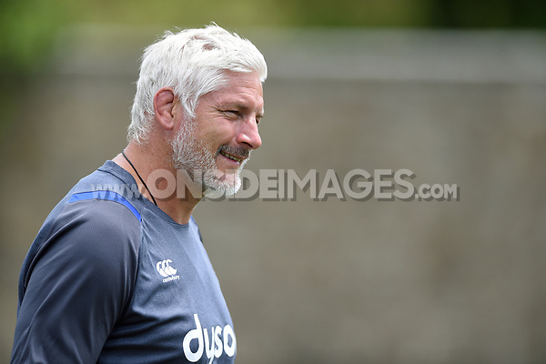 Bath Director of Rugby Todd Blackadder looks on. Bath Rugby pre-season skills training on June 22, 2017 at Farleigh House in Bath, England. Photo by: Patrick Khachfe / Onside Images