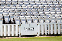 Lords, the home of cricket during Middlesex CCC vs Lancashire CCC, Specsavers County Championship Division 2 Cricket at Lord's Cricket Ground on 11th April 2019