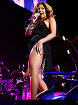 "March 18, 2010 New York: Singer Beyonce performs ""Madison Square Garden"" on March 18, 2010 in New York."