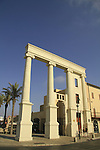 Israel, Tel Aviv-Yafo, the Saraya building in Jaffa