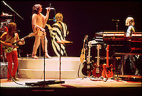 "Yes Performing Live in Concert ""In The Round"" at the New Haven Coliseum Connecticut on 4 September 1978. Band Members this Tour: Jon Anderson, Steve Howe, Chris Squire, Alan White & Rick Wakeman. The song is Awaken it's the only time Steve used a Rickenbacker 12-string."