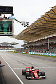1st October 2017, Sepang, Malaysia;  FIA Formula One World Championship, Grand Prix of Malaysia, 5 Sebastian Vettel (GER, Scuderia Ferrari), Sepang Malaysia
