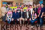 Leens Hotel was the venue on Friday night last for the launch of the inaugral Abbeyfeale Cycling Club sportive, The Abbey Classic, in aid of St. Gabriel's School and Centre in Limerick. In attendance on the night were The Minister of State for Tourism and Sport, Patrick O'Donovan and Councillor Liam Galvin  as were St. Gabriel's representative's Kate Sheahan and Charlie O'Connor. Also present were members of the ACC Committee and members of the club. This event will take place on Sunday 14th August at 10am from Fr. Casey's GAA Pavilion. Registration will be from 8.30am. Please show your support for a very worthy cause.<br /> Seated centre Minister of State for Tourism and Sport, Patrick O'Donovan , on his left is Cllr. Liam Galvin & on his right is Edmund O' Donoghue Chairman of Abbeyfeale Cycling Club