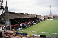 General view of Bohemian FC Football Ground, Dalymount Park, Phibsborough, Dublin, Ireland, pictured on 15th August 1997