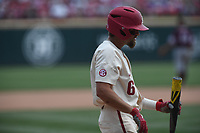 NWA Democrat-Gazette/J.T. WAMPLER Image from Arkansas' 6-3 win over Texas A&M Sunday May 13, 2018 at Baum Stadium in Fayetteville.