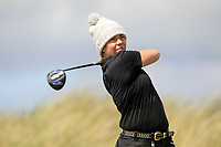 Lauren Murray (Delgany) during the 1st round of the Irish Women's Open Stroke Play Championship, Enniscrone Golf Club, Enniscrone, Co. Sligo. Ireland. 16/06/2018.<br /> Picture: Golffile | Fran Caffrey<br /> <br /> <br /> All photo usage must carry mandatory copyright credit (© Golffile | Fran Caffrey)