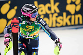 2nd February 2019, Maribor, Slovenia;  Frida Hansdotter of Sweden in action during the Audi FIS Alpine Ski World Cup Women's Slalom Golden Fox on February 2, 2019 in Maribor, Slovenia