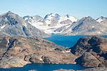 Ammassalik Fjord in Greenland