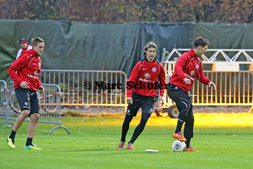 Martin Lanig, Srdjan Lakic (Eintracht)