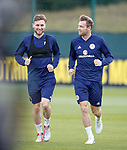 09.10.2018 Scotland training, Oriam: Stephen O'Donnell and Kevin McDonald