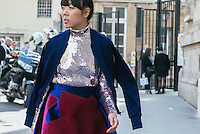 Susie Bubble at Paris Fashion Week (Photo by Hunter Abrams/Guest of a Guest)