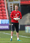 Sheffield United's Simon Moore in action during the League One match at the Valley Stadium, London. Picture date: November 26th, 2016. Pic David Klein/Sportimage
