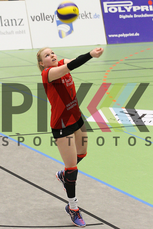 Koepenicks Anna Pogany <br /> <br /> 09.03.2016 Volleyball Frauen 1. Bundesliga Pre Play Offs, Koepenicker SC Berlin  - VT Aurubis Hamburg  beim Spiel in der Volleyball Frauen 1. Bundesliga Pre Play Offs, Koepenicker SC Berlin  - VT Aurubis Hamburg.<br /> <br /> Foto &copy; PIX-Sportfotos *** Foto ist honorarpflichtig! *** Auf Anfrage in hoeherer Qualitaet/Aufloesung. Belegexemplar erbeten. Veroeffentlichung ausschliesslich fuer journalistisch-publizistische Zwecke. For editorial use only.