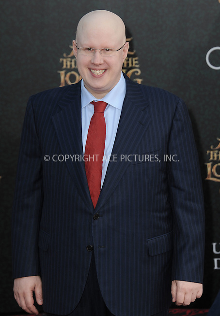 WWW.ACEPIXS.COM<br /> <br /> May 23 2016, LA<br /> <br /> Matt Lucas arriving at the premiere of Disney's 'Alice Through The Looking Glass' at the El Capitan Theatre on May 23, 2016 in Hollywood, California.<br /> <br /> <br /> By Line: Peter West/ACE Pictures<br /> <br /> <br /> ACE Pictures, Inc.<br /> tel: 646 769 0430<br /> Email: info@acepixs.com<br /> www.acepixs.com