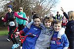 Mark, Harry and Evan at Erin's Run, An Grianan, Termonfeckin.<br /> <br /> Photo: Jenny Matthews