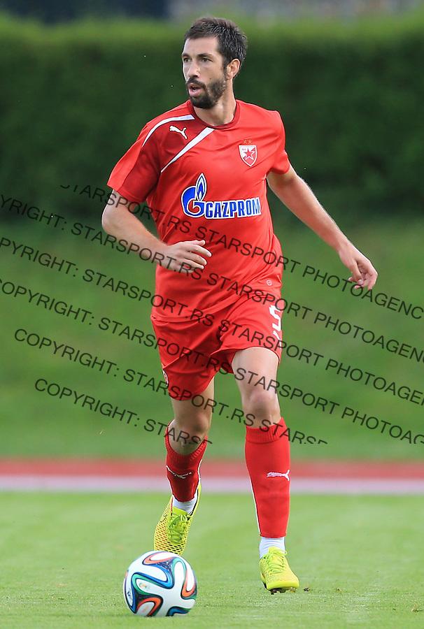 Fudbal season 2013-2014<br /> FK Crvena Zvezda pripreme<br /> Crvena Zvezda v Krka<br /> Nikola Mijailovic<br /> Novo Mesto, 07.12.2014.<br /> foto: Srdjan Stevanovic/Starsportphoto &copy;