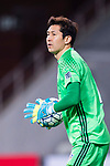 Ulsan Hyundai Goalkeeper Kim Yongdae in action during the AFC Champions League 2017 Group E match between  Ulsan Hyundai FC (KOR) vs Muangthong United (THA) at the Ulsan Munsu Football Stadium on 14 March 2017 in Ulsan, South Korea. Photo by Chung Yan Man / Power Sport Images
