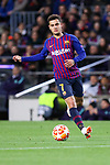 UEFA Champions League 2018/2019.<br /> Round of 16 2nd leg.<br /> FC Barcelona vs Olympique Lyonnais: 5-1.<br /> Philippe Coutinho.