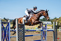 Class 8: Equifibre Junior Rider Series - Sponsored by Fiber Fresh Feeds. 1.10m. 2020 NZL-Collinson Forex Premier Show Jumping At Woodhill Sands. Helensville. Saturday 11 January. Copyright Photo: Libby Law Photography