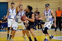 ZWOLLE - Basketbal, Landstede - Donar, Halve finale beker, seizoen 2017-2018, 18-02-2018, Donar speler Sean Cunningham met Landstede speler Jordan Gregory