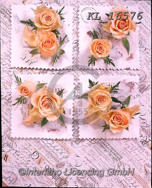 Interlitho-Alberto, FLOWERS, BLUMEN, FLORES, photos+++++,yellow roes, parchment,KL16576,#f#, EVERYDAY ,rose,roses ,napkin,napkins,