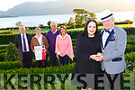 Claire Houlihan and Seanie O'Donoghue with l-r David Brookes, Bernie McCarthy, Tim Kissane, Sarah Griffin launch the Fossa Fashion Extravaganza  in aid of of Killarney and Fossa Greenway Project which will be held in the Europe Hotel and Resort on Tuesday 30th October on Monday evening