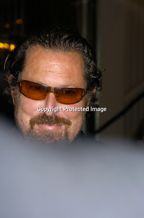 "Julian Schnabel ..at The Actor's Fund of America Annual Gala- ""That's Entertainment "" at the Waldorf=Astoria on October 30, 2004.  Johnny Depp was being honored...Photo by Robin Platzer, Twin Images"