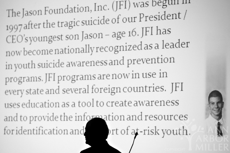 Photographs of The Jason Foundation, Inc., affiliate office opening at Prairie St. John's celebration luncheon on June 2, 2010, at the Hilton Garden Inn in Fargo, N.D. Photography by Ann Arbor Miller