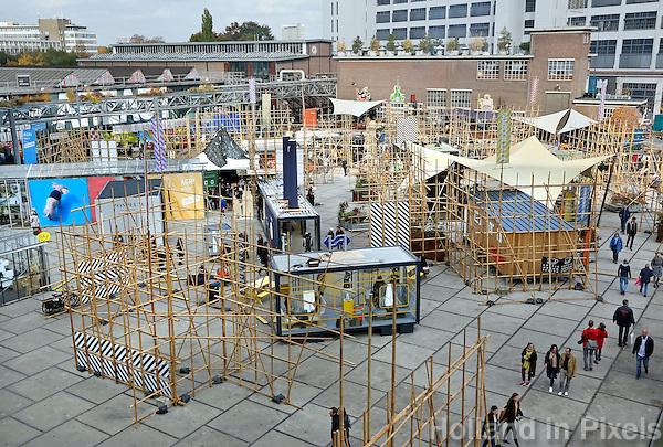 Nederland Eindhoven 2016 . DDW. Dutch Design Week. Strijp-S. Expositie.  Foto Berlinda van Dam / Hollandse Hoogte