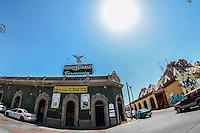 Barra Hidalgo. Bar.  Cantina mexicana antes llamada Gran Taco. Es un edificio antiguo en el Centro de Hermosillo. INHA. Instituto nacional de Antropologia e Historia.<br /> <br /> Barra Hidalgo. Bar. Mexican Cantina before called Gran Taco. It is an old building in downtown Hermosillo. INHA. National Institute of Anthropology and History.