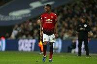 Marcus Rashford of Manchester United during Tottenham Hotspur vs Manchester United, Premier League Football at Wembley Stadium on 13th January 2019