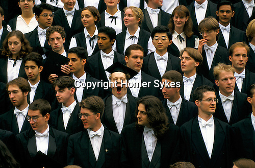 'OXFORD UNIVERSITY' 1995, MATRICULATION DAY PHOTOGRAPH AT MAGDALEN COLLEGE, 1995