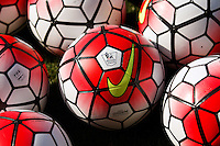 Footballs during the Barclays Premier League match between Southampton v Swansea City played at St Mary's Stadium, Southampton