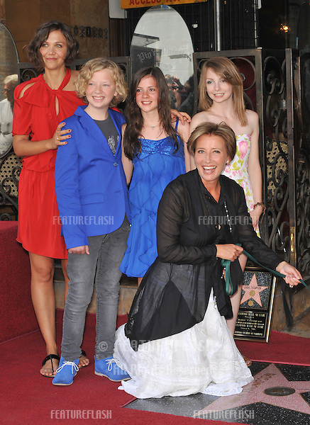 Emma Thompson Emma Thompson Star Ceremony Featureflash Photo