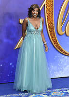 Kelle Bryan attends live-action remake of the hit Disney animated film Aladdin on 9th May 2019 in London, England, UK.<br /> <br /> <br /> CAP/JOR<br /> &copy;JOR/Capital Pictures
