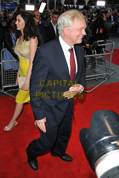 David Davis at the &quot;Brexit: The Movie&quot; UK film premiere, Odeon Leicester Square cinema, Leicester Square, London, England, UK, on Wednesday 11 May 2016.<br /> CAP/CAN<br /> &copy;Can Nguyen/Capital Pictures
