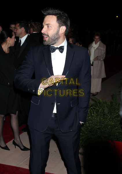 Ben Affleck.24th Annual Palm Springs International Film Festival Awards Gala held at at Palm Springs Convention Center, Palm Springs, California, USA,.5th January 2013..full length black tuxedo tux bow tie beard facial hair half 3/4 profile beard stubble facial hair mouth open hand arm.CAP/ADM/RE.©Russ Elliot/AdMedia/Capital Pictures.
