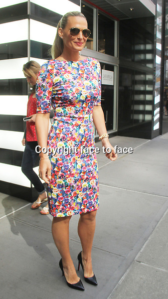 NEW YORK, NY - JUNE 5: Molly Sims seen at Sephora Times Square after promoting LaVanilla Healthy Deodorant. New York City. June 5, 2013. <br />