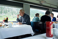 Canada Via Rail Train