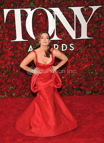NEW YORK, NY - JUNE 12: Laura Michelle Kelly at the 70th Annual Tony Awards at The Beacon Theatre on June 12, 2016 in New York City. Credit: John Palmer/MediaPunch