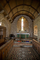 13th Century church at Zennor, Cornwall, England
