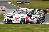 15th September 2017, Sandown Raceway, Melbourne, Australia; Wilson Security Sandown 500 Motor Racing; James Golding (33) drives the Wilson Security Racing GRM Holden Commodore VF during Supercars practice