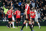 Juan Mata of Manchester United receives a red card - English Premier League - West Bromwich Albion vs Manchester Utd - The Hawthorns Stadium - West Bromwich - England - 6th March 2016 - Picture Simon Bellis/Sportimage