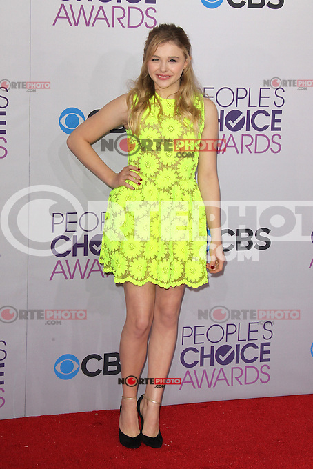 LOS ANGELES, CA - JANUARY 09: Chloë Grace Moretz at the 39th Annual People's Choice Awards at Nokia Theatre L.A. Live on January 9, 2013 in Los Angeles, California. Credit: mpi21/MediaPunch Inc. /NORTEPHOTO