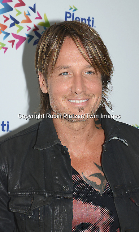 Keith Urban attends the PlentiTogether LIVE Concert on July 19, 2015 at Hammerstein Ballroom in New York City, New York, USA.<br /> <br /> photo by Robin Platzer/Twin Images<br />  <br /> phone number 212-935-0770