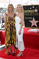 HOLLYWOOD, CA - MAY 04: Goldie Hawn and Kate Hudson pictured at the ceremony honoring Goldie Hawn and Kurt Russell with a double star ceremony on The Hollywood Walk of Fame on May 4, 2017 in Hollywood, California. Credit: Faye Sadou/MediaPunch