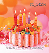 Interlitho, Alberto, STILL LIFES, photos, cake, 5 candles(KL16234,#I#) Stilleben, naturaleza muerta