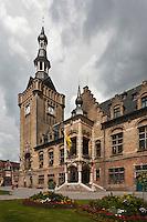 Europe/France/Nord-Pas-de-Calais/59/Nord/ Bailleul: L'Hôtel de Ville et son  Beffroi  classé au Patrimoine mondial UNESCO