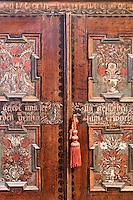 wooden carved artwork